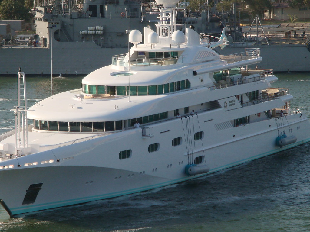 Donald Trump 39 S Yacht Marshall Sarah Flickr