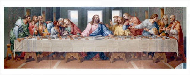""" The Last Supper "" - restored : as by Leonardo da Vinci ... Da Vinci Last Supper Restored"