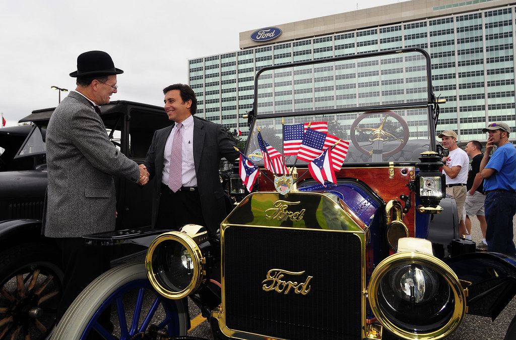 Model t 100th anniv skv8396 dearborn mi september 5 for Ford motor company jobs dearborn mi