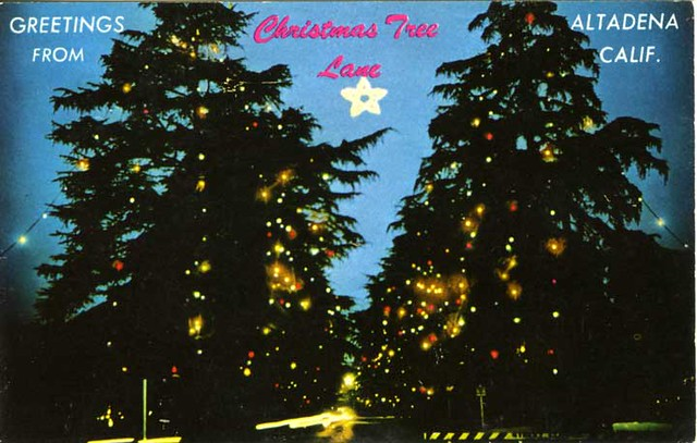 christmas tree lane santa rosa avenue altadena california by manitoba museum of