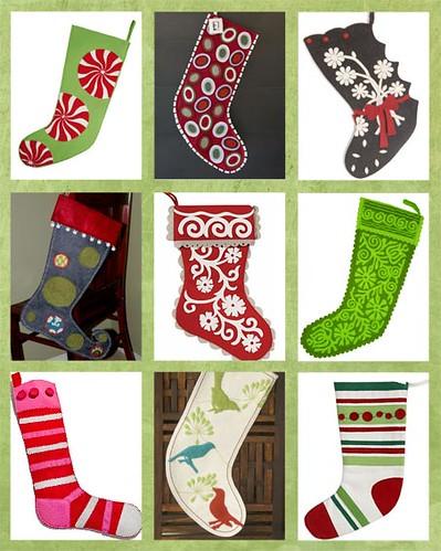 Felt Christmas Stockings | feltorama.blogspot.com/2008/11/fe ...