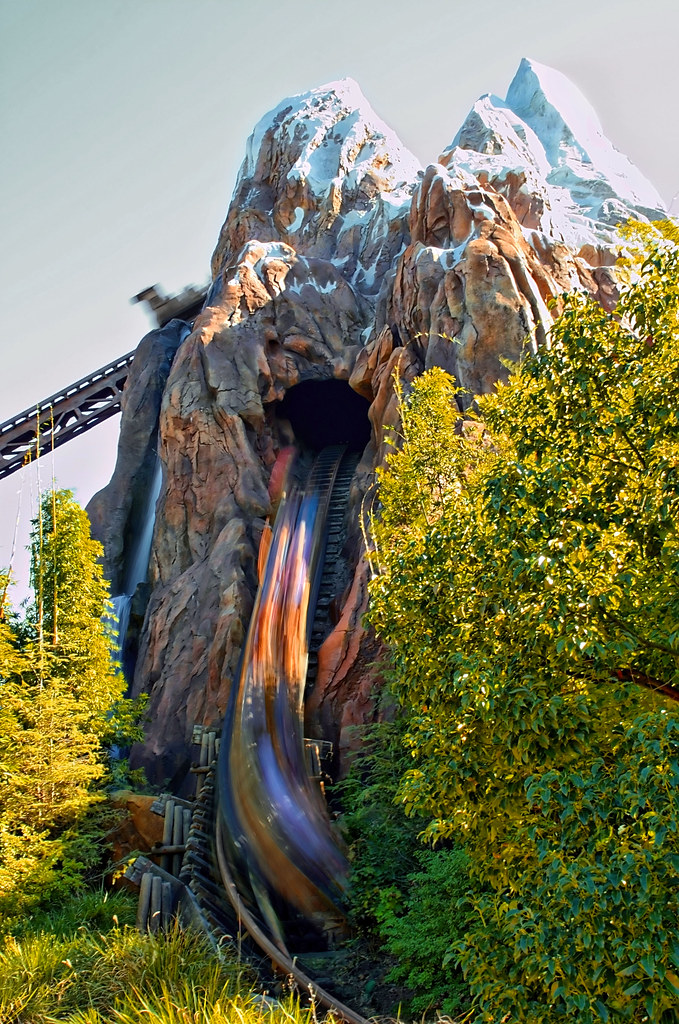 Disney - Expedition Everest | View Large On Black See ...