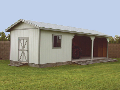Tuff Shed Carports : Premier pro tall ranch loafing shed flickr
