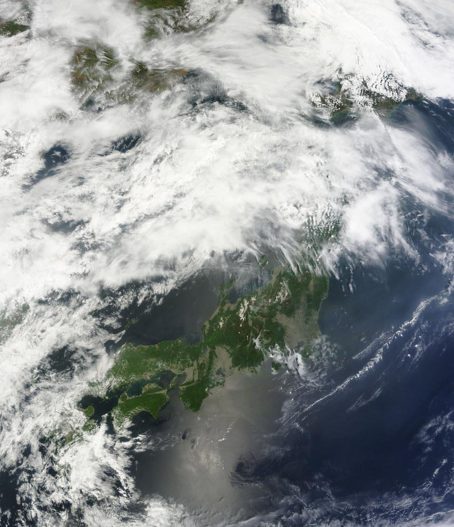 NASA Satellite View of Japan on May 20, 2011   NASA's ...