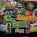Toshiba Laptop Stickers Collage v3