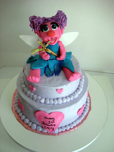 Sesame Street Abby Cake