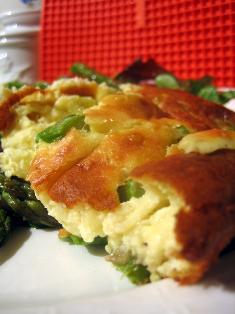Cheese and Asparagus Souffle 029 | Cheese and Asparagus Souf ...