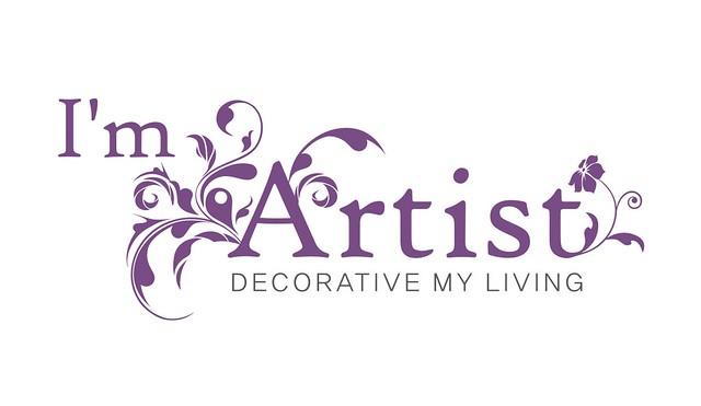 "decorative my living - ""I'm artist"" logo | coreldraw, logo ..."