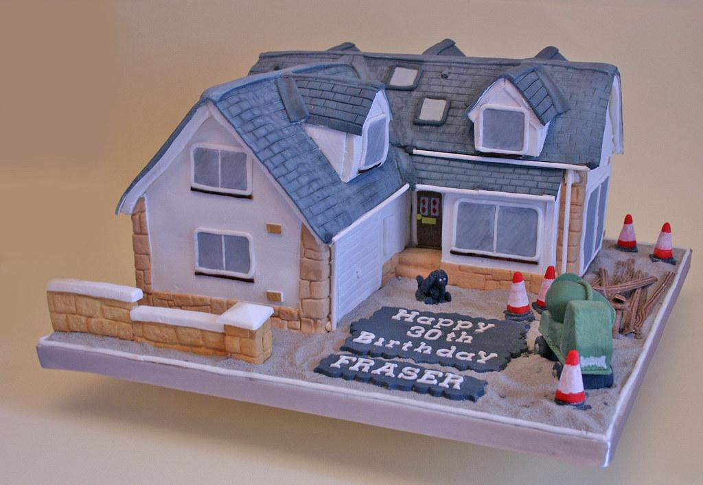 Birthday Cake 131 House Paula Jane Bourke Flickr