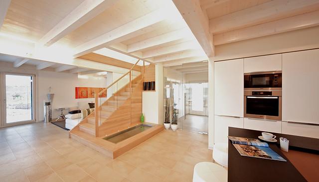 musterhaus classic linz treppe modernes design in. Black Bedroom Furniture Sets. Home Design Ideas