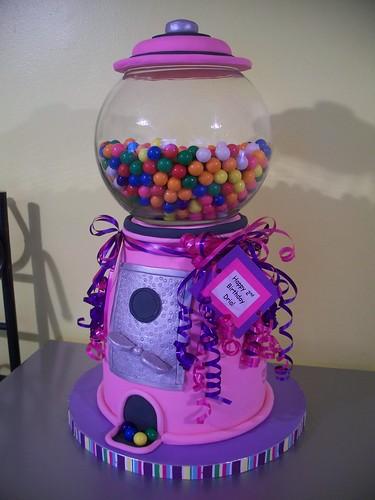 Pink Gumball Machine Cake Flickr Photo Sharing