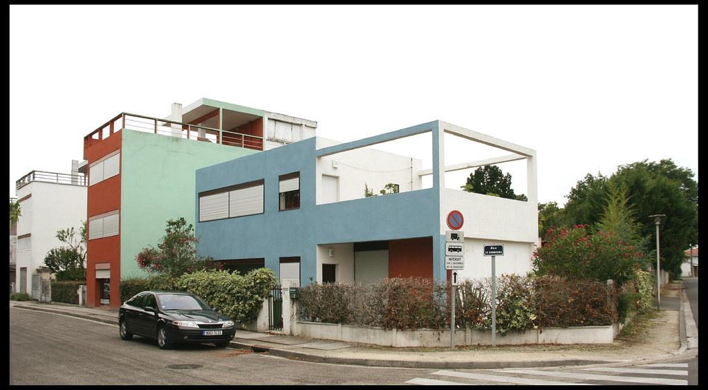rue le corbusier 1924 cit frug s pessac architectes flickr. Black Bedroom Furniture Sets. Home Design Ideas