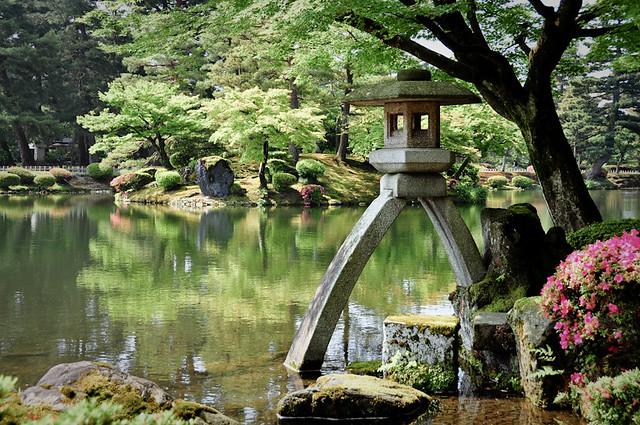 Zen Garden - Kenrokuen, Takayama, Japan | This photo is ...