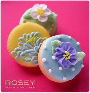 Flower cookie collection 3 | by rosey sugar