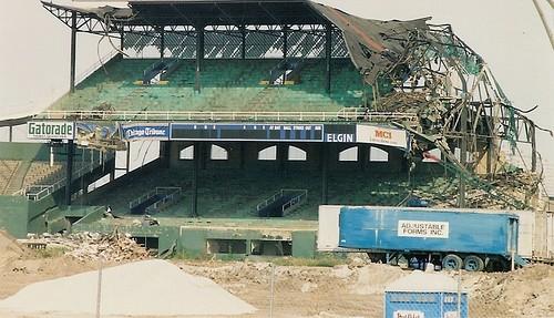 Comiskey Park Demolition 1991 Flickr Photo Sharing