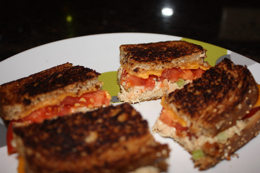 how to make tuna melt at home