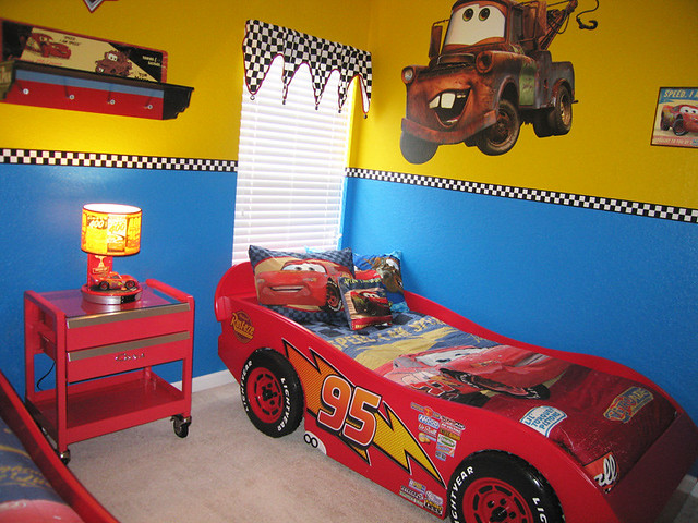Disney Cars Themed Bedroom Disney Cars Theme Is Carried Th Flickr