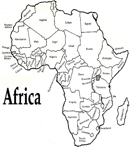 africa-map-blank | Flickr - Photo Sharing!
