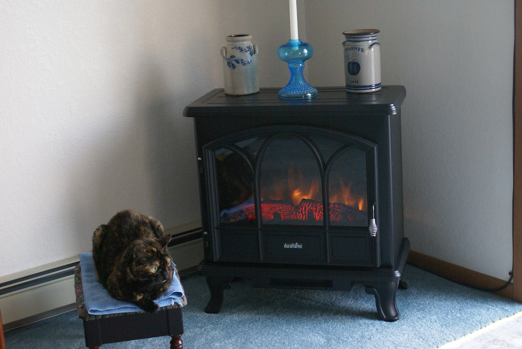 Duraflame 750 Black Freestanding Electric Stove With Remot Flickr