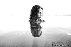 Lovely Kelsey at Infinity Pool in Waikiki Hawaii with Fuji X100 by The Smoking Camera