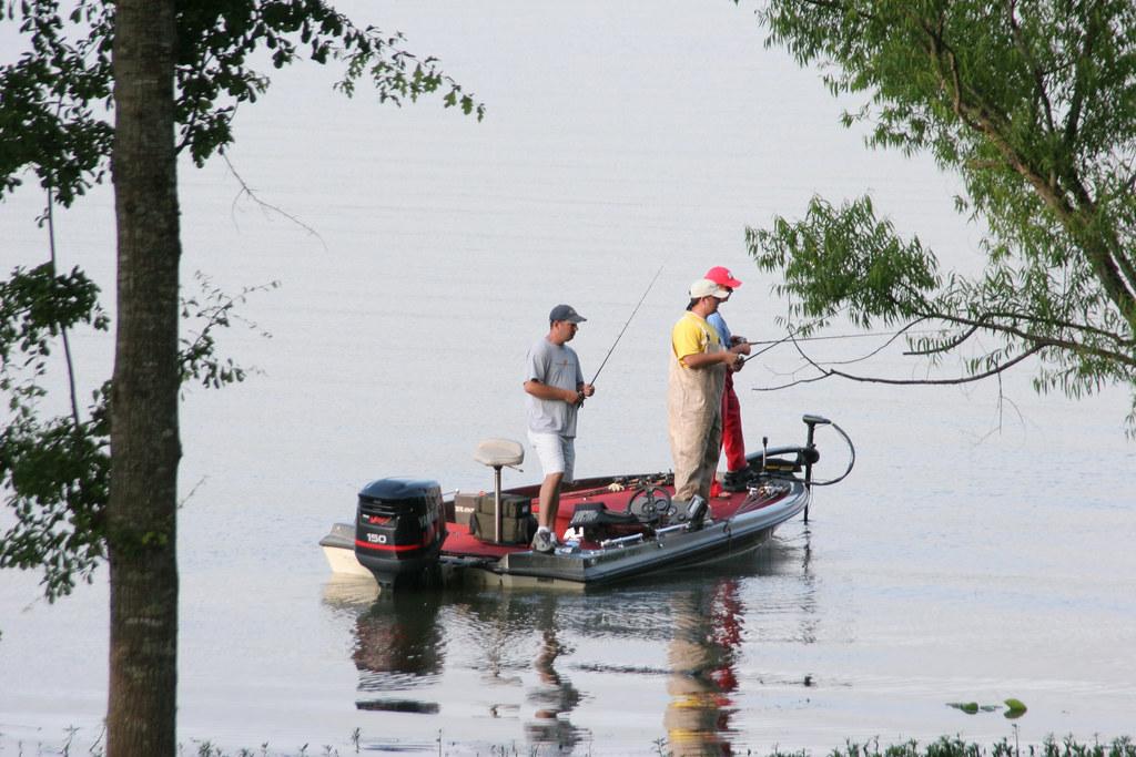 Lake eufaula fishing lake eufaula was formed with the for Lake eufaula alabama fishing report