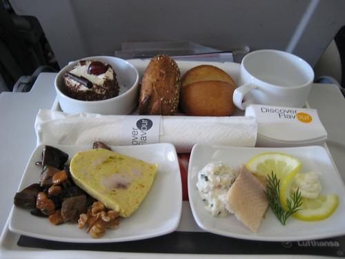 Lufthansa Flight Indian Food Menu For Economy Class