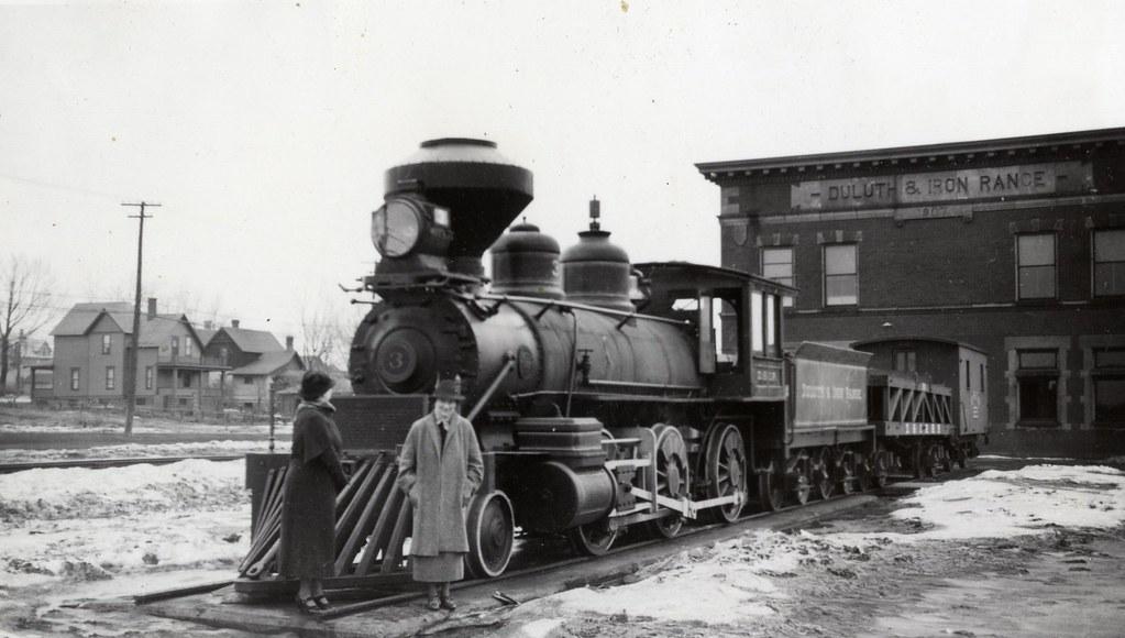 Lida Haynes With Steam Engine Train Ca 1930 S Lida