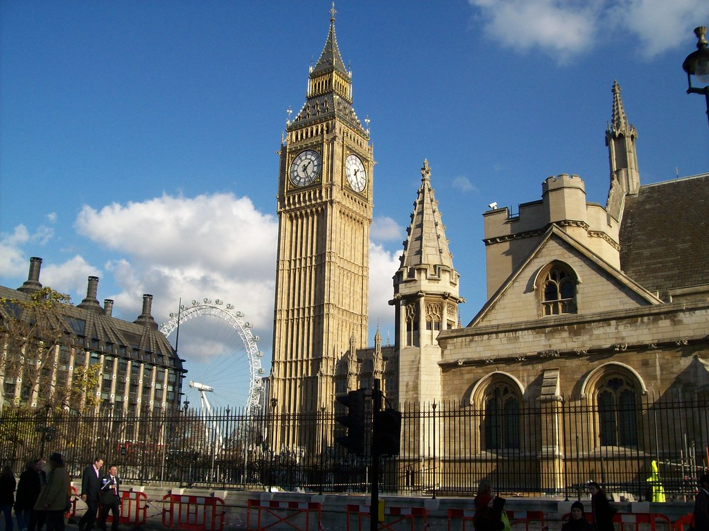 London Eye And Big Ben. Featured In