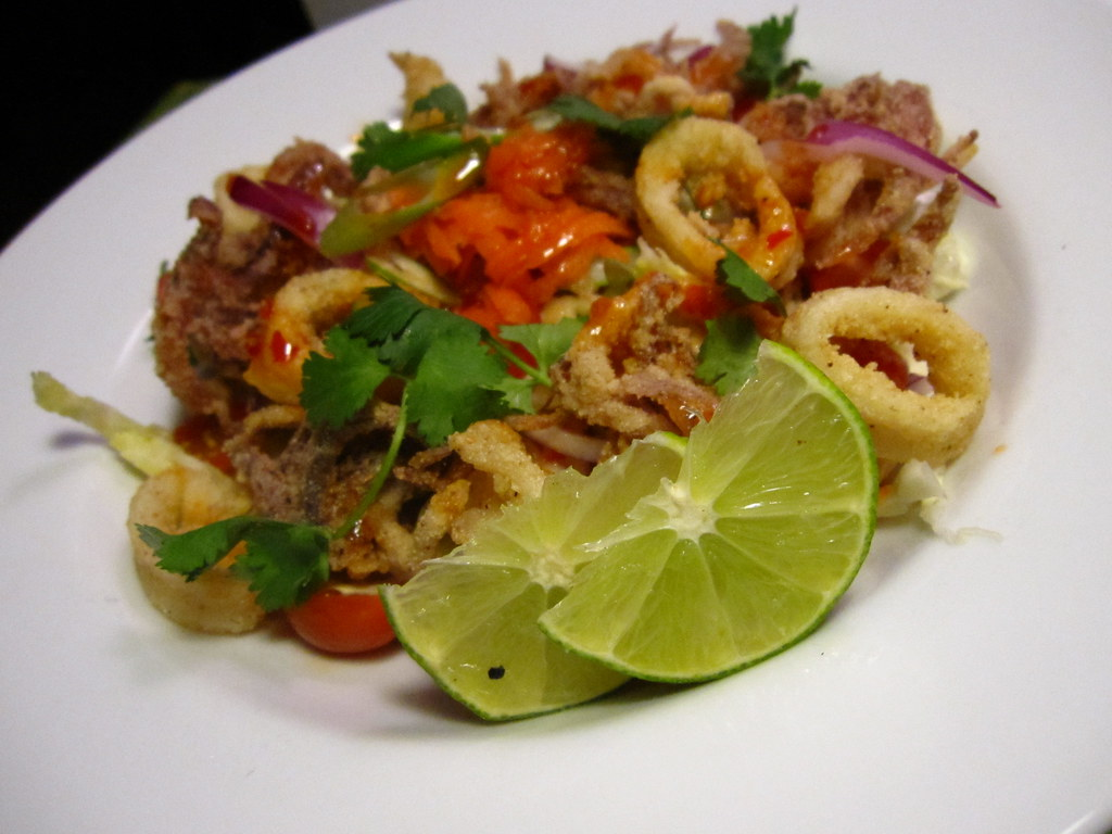 Thai Crispy Calamari Salad | Check out this recipe: www ...