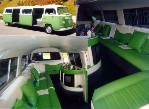 69 VW Bus Limo | When Deanna and I got married, this was our… | Flickr