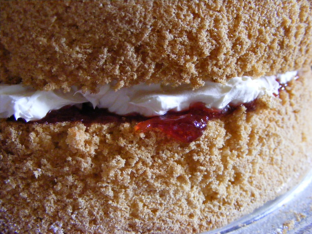Fat Free Sponge Cake Recipe Easy