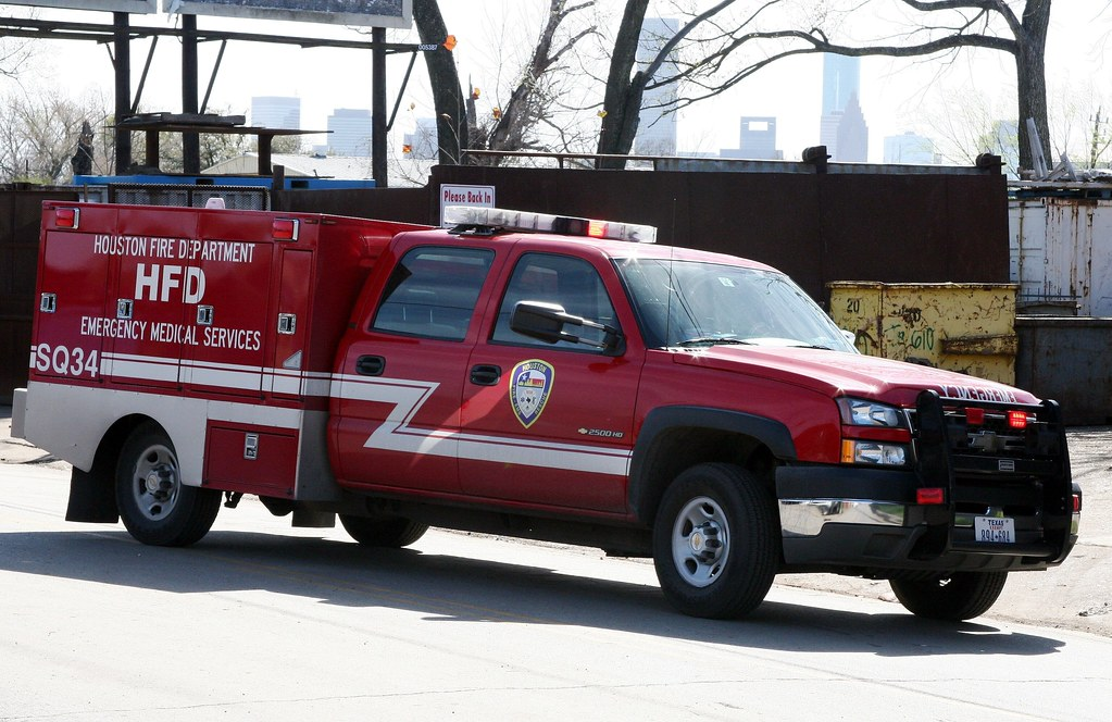 Houston Texas Fire Department Paramedic Squad 34 Chevy Flickr