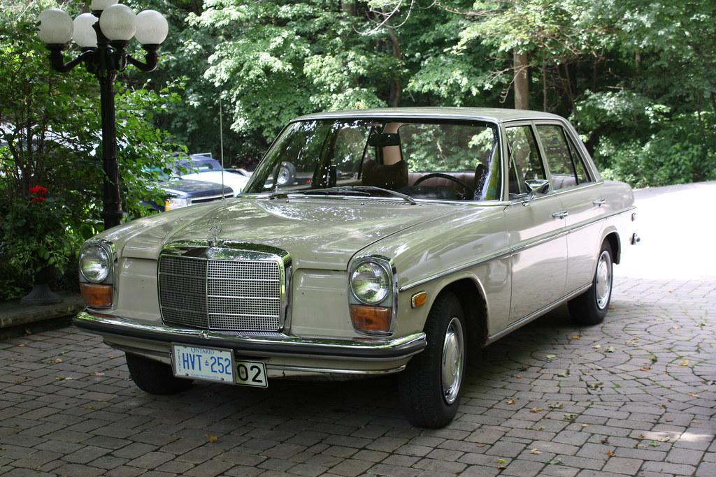 1971 mercedes benz 220 diesel 4 door richard spiegelman