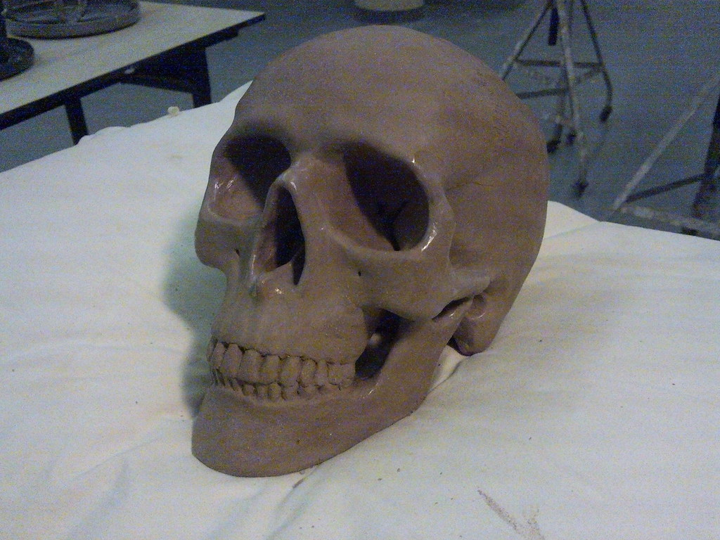 D Day Real Pictures Skull, clay | Our firs...