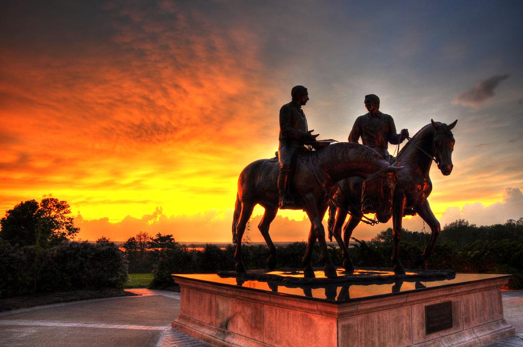 Joseph And Hyrum Sunset Statue Of Joseph And Hyrum Smith
