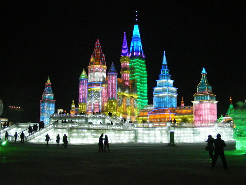 Snow and Ice World festival in Harbin, China | by Rincewind42