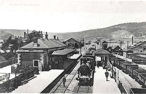 Railway Station Eskbank Eskbank Railway Station Dated