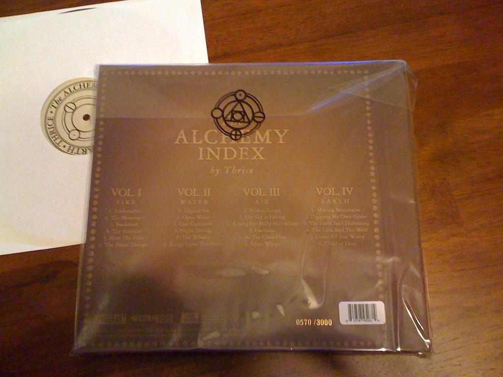 Thrice Alchemy Index Vinyl Thrice Alchemy Index Vinyl