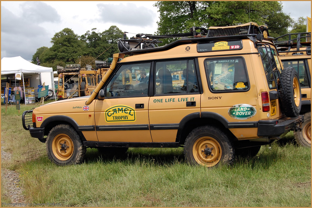 Camel Trophy Land Rover Discovery Si Flickr
