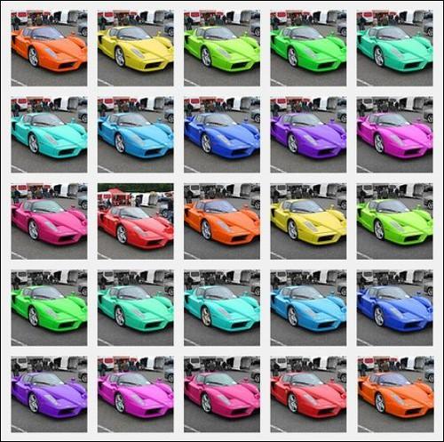Ferrari Rainbow Ferrari Rainbow Set Www Flickr Com