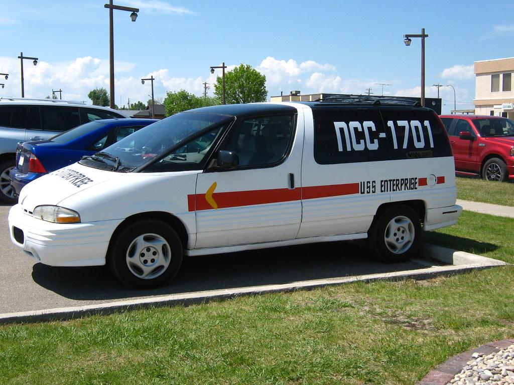 Star Trek Shuttle Van | This van has been painted to ...