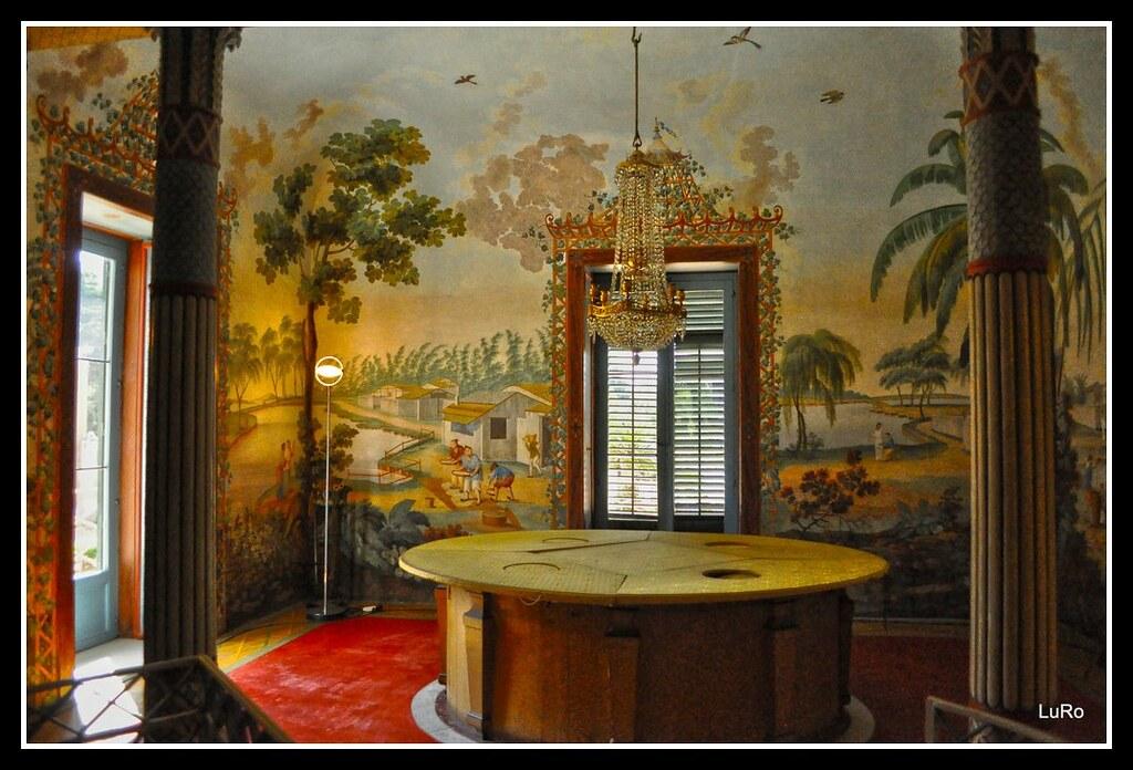 Palermo palazzina cinese tavola matematica la tavola for Tavola sala da pranzo