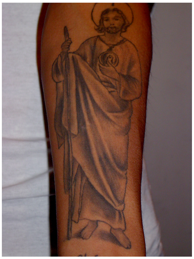 San Judas Tattoo: Tatuaje De San Judas Tadeo