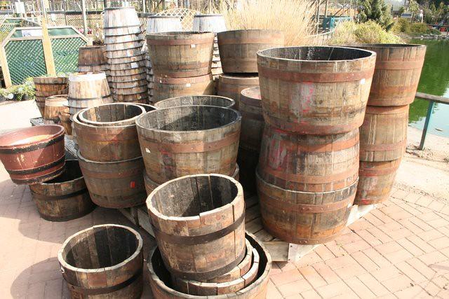 Superieur ... Wooden Garden Tubs Made From Barrels | By Crinklecrankle.com