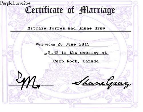 online marriage certificate fake