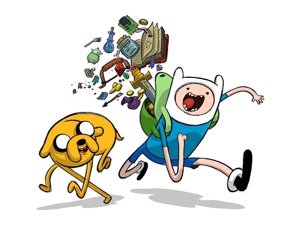 Character Design Adventure Time : Revised promo art by adventure time character designer