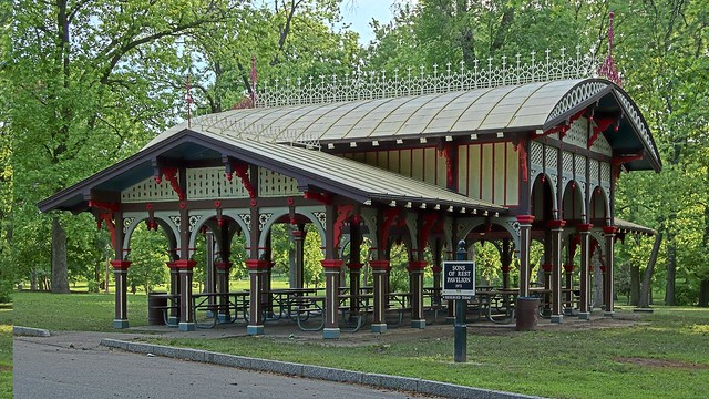 Tower Grove Park In Saint Louis Missouri Usa Sons Of