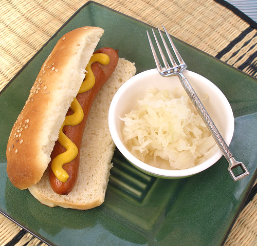 Homemade Hot Dog Bun Pan