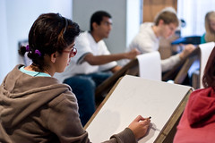 Life Drawing Class in the Foundation Visual Art & Design Program at VFS | by vancouverfilmschool