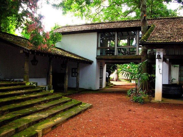 Geoffrey bawa house lunuganga sri lanka flickr photo for Home architecture sri lanka
